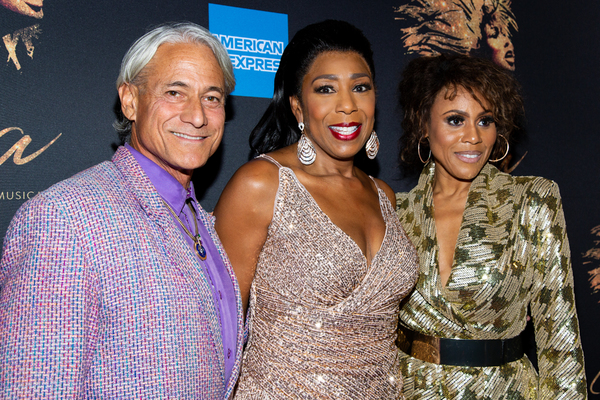 Greg Louganis, Dawnn Lewis, Deborah Cox Photo