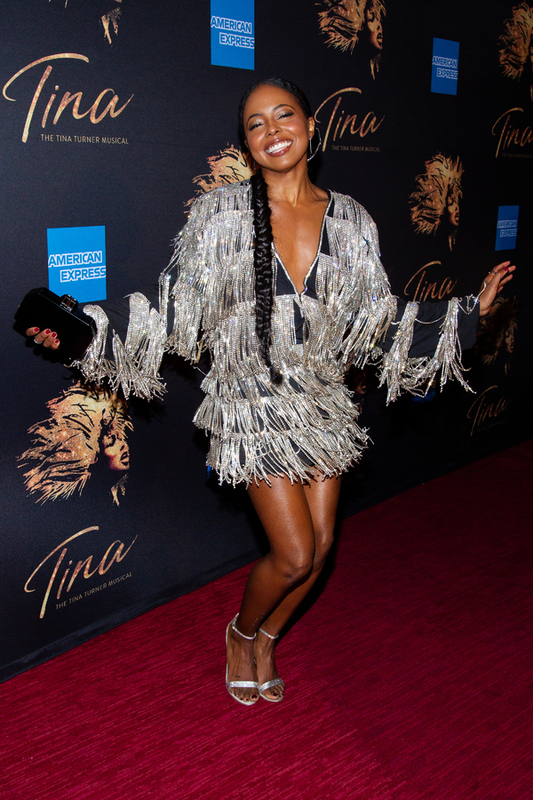 Photo Coverage: Adrienne Warren & Company Celebrate Opening Night of TINA: THE TINA TURNER MUSICAL