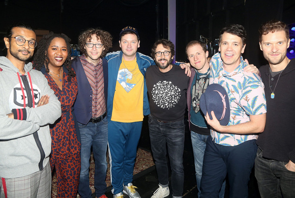 Photo Flash: Josh Groban Makes Guest Appearance At FREESTYLE LOVE SUPREME