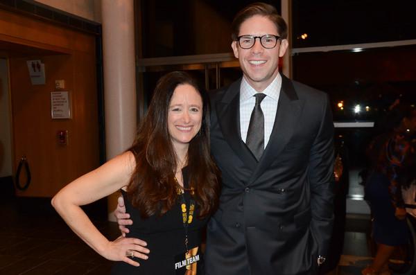 Caroline Sorokoff Film Festival Director & Frank DiLella, NY1 Photo