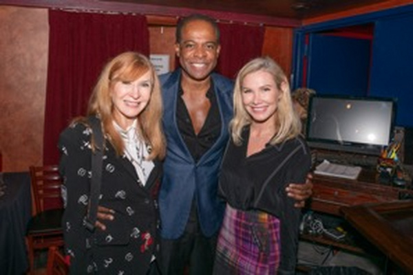 Nicole Miller, Frederick Anderson and Allison Hodge