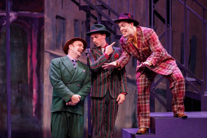 BWW Review: Village Theatre's GUYS & DOLLS Has the 'Numbers' but Not the 'Story'