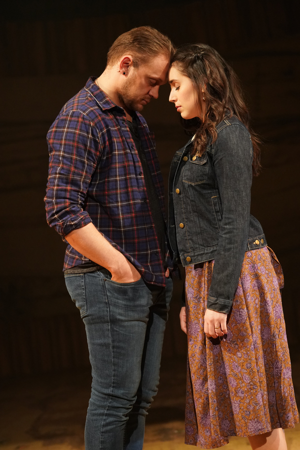 Matt DeAngelis (as Guy) and Mackenzie Lesser-Roy (as Girl) Photo