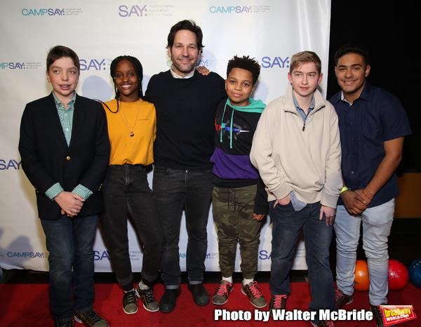 Paul Rudd with SAY Kids Photo