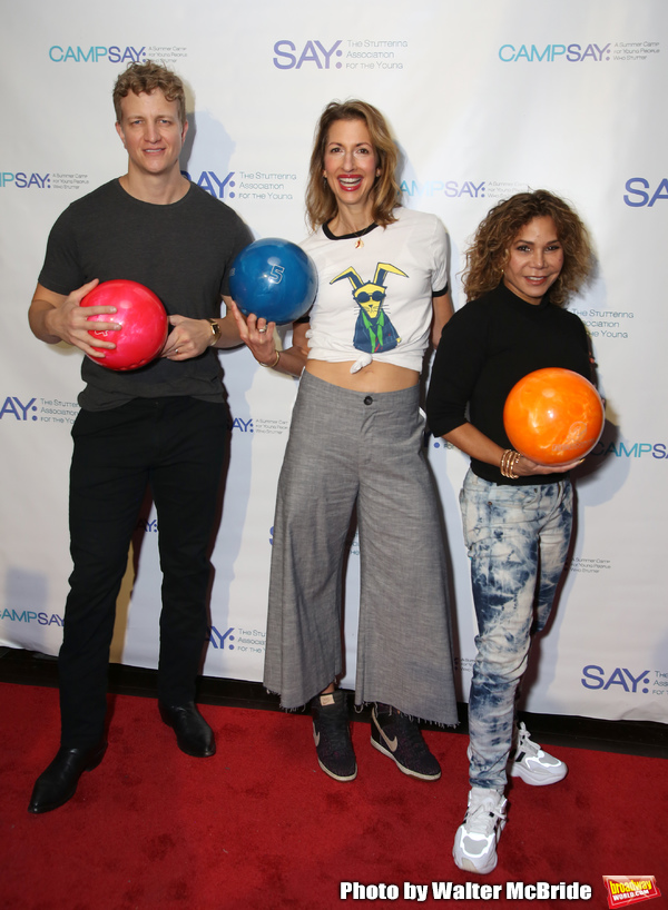 Jeremy Hays, Alysia Reiner and Daphne Rubin-Vega  Photo