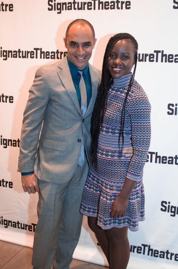 Saheem Ali and Lupita Nyong'o Photo