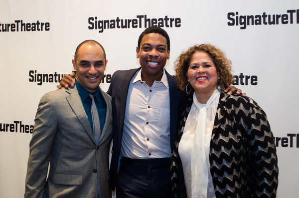 Saheem Ali, Michael Benjamin Washington and Anna Deavere Smith Photo