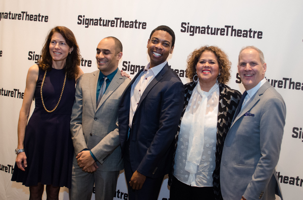 Paige Evans, Saheem Ali, Michael Benjamin Washington, Anna Deavere Smith and Harold W Photo