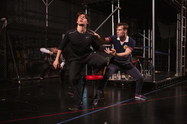 Isaac Gryn and Ronan Burns Photo
