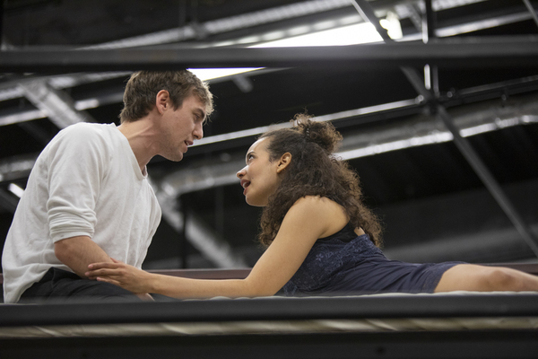 Jamie Muscato and Adriana Ivelisse Photo
