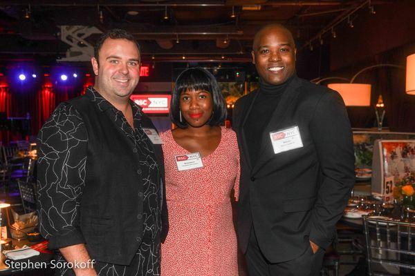 Joel Waggoner, Anastasia McCleskey, Melvin Tunstall lll Photo