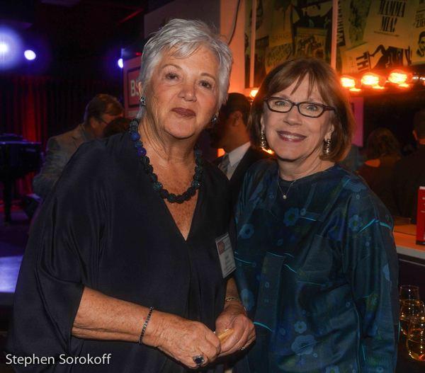 Mary Ann Quinson, Board Chair & Julianne Boyd Photo
