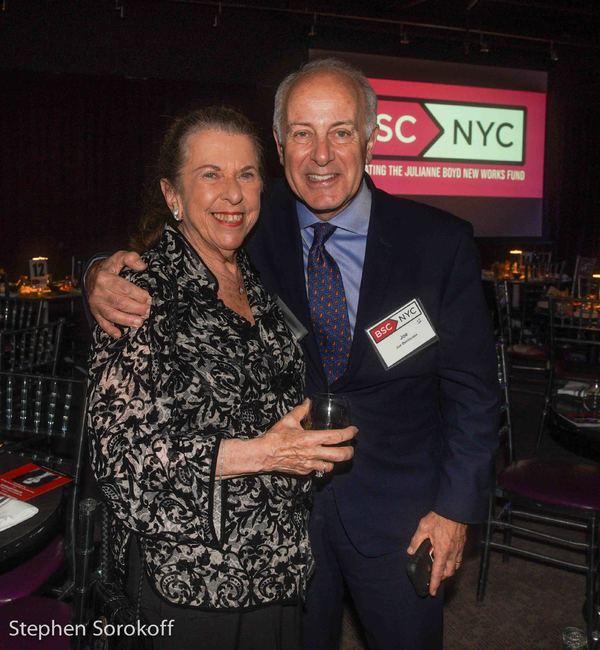 Abby Schroider, & Joseph Benincasa, President/CEO The Actors Fund Photo