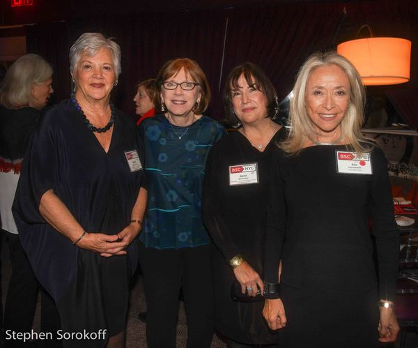 Mary Ann Quinson, Julianne Boyd, Marita Glodt, Eda Sorokoff, Gala Chair Photo