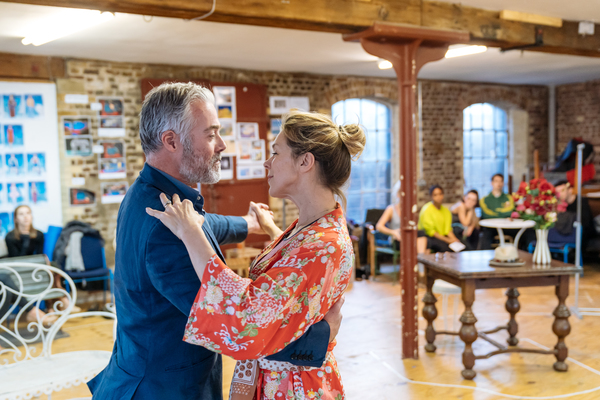 Photo Flash: Inside Rehearsal For THE BOY FRIEND at Menier Chocolate Factory