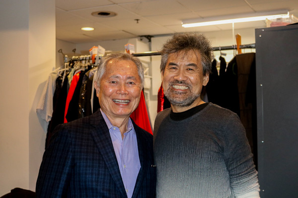 Photo Flash: George Takei Stopped by SOFT POWER at The Public