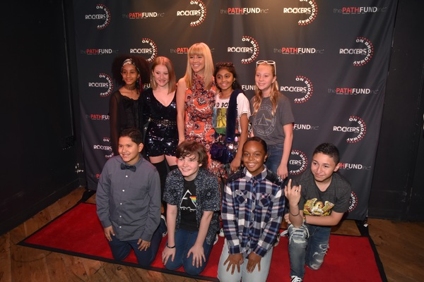Morgan James with Mehret Marsh, Isabelle Gottfried, Sway Bhatia, Natalie Alverado, Myles Santiago, Timothy Foley, Nyla Jones and Matteo Russo