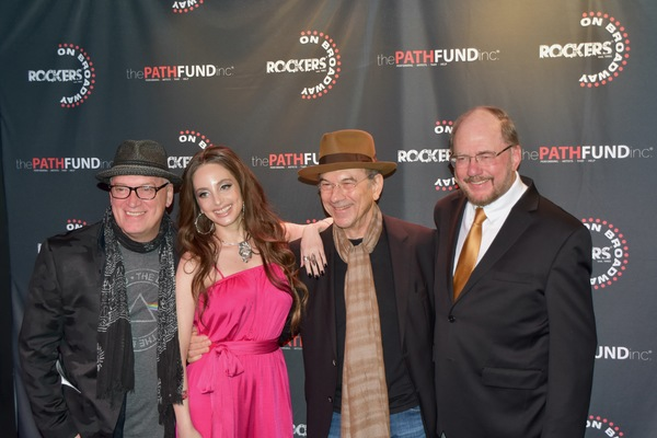 Donnie Kerh, Alexa Ray Joel, Russ Titelman and Rupert Holems