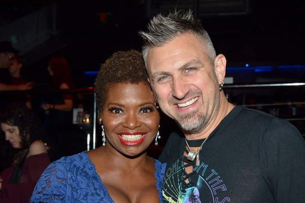LaChanze and John Clancy Photo