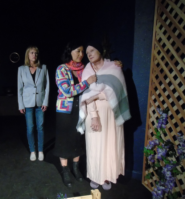 Meg Wallace, Heidi Shon and Kathy Bell Denton