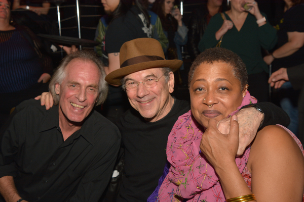 Keith Carradine, Russ Titelman and Lisa Fischer