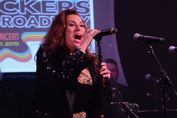 Photo Coverage: Michael Cerveris, Ryann Redmond, And More Rock Out At ROCKERS ON BROADWAY