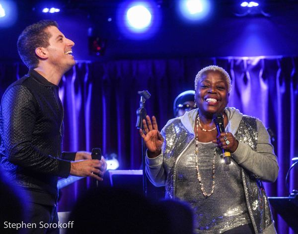 Anthony Nunziata & Lillias White Photo