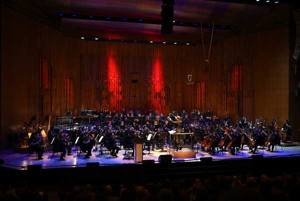 Photo Flash: The BBC Symphony Orchestra Performs Alongside Neil Gaiman at PLAYING IN THE DARK