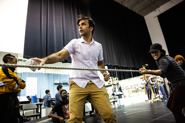 Photo Flash: Inside Rehearsals For MOBY-DICK at ART