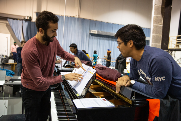 Music Director and Supervisor Or Matias and Associate Music Director J. Oconer Navarr Photo