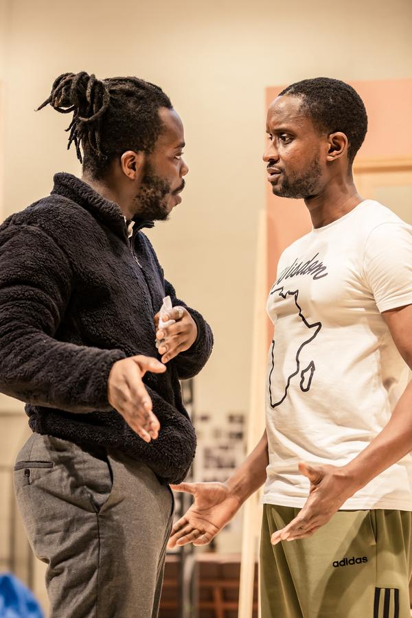 Three Sisters Rehearsal Photos National Theatre 5th November 2019  By Inua Ellams aft Photo