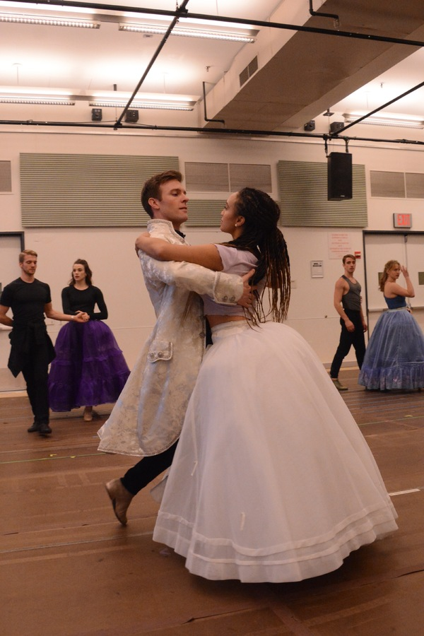 Photo Coverage: The Cast of CINDERELLA at Paper Mill Meets The Press