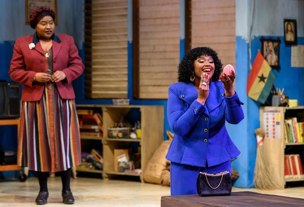 Photo Flash: First Look at SCHOOL GIRLS; OR THE AFRICAN MEAN GIRLS PLAY at Pittsburgh Public Theater