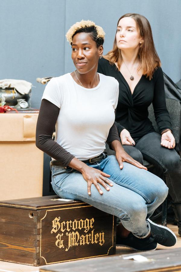 Maria Omakinwa, Rebecca Trehearn Photo