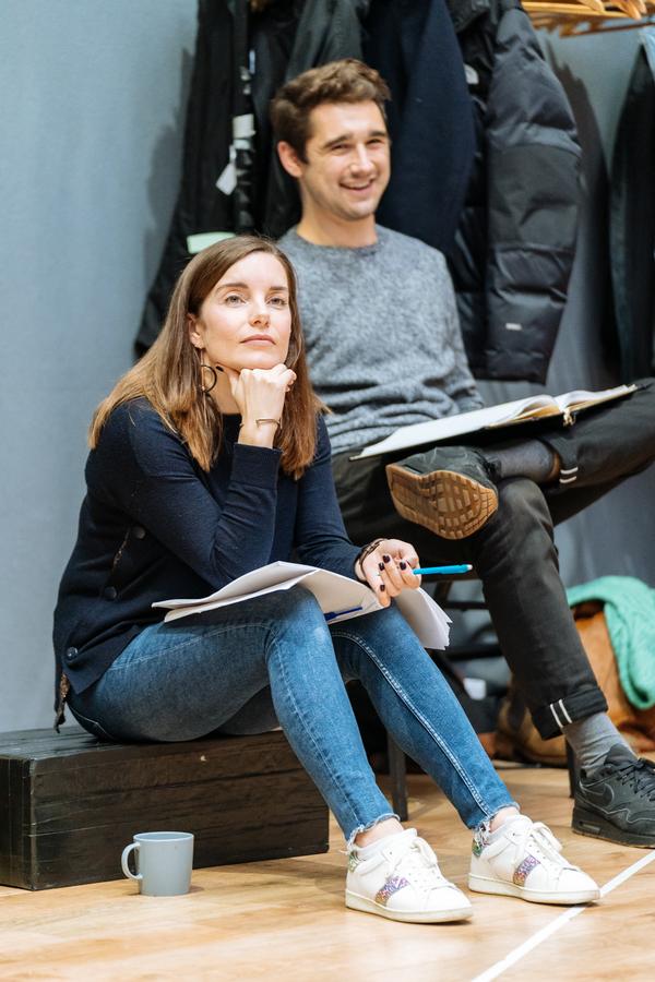 Rebecca Trehearn and Fred Haig Photo