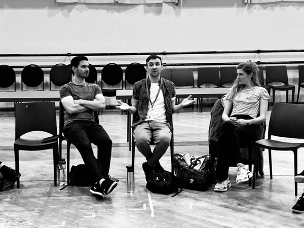 Photo Flash: Inside Rehearsal For THE ROCKY HORROR SHOW at Artscape