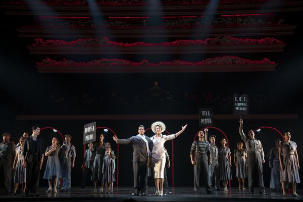 Photo Flash: First Look at NY City Center's EVITA, with Solea Pfeiffer & More!