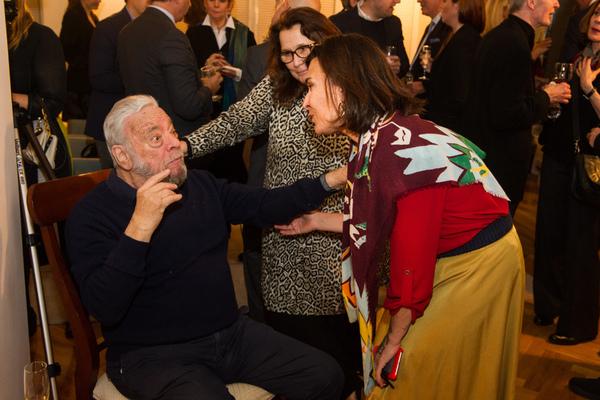 Photo Flash: Stephen Sondheim Receives Honorary Fellowship From Royal Academy of Dramatic Art