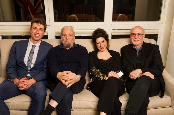 Jamie Bogyo, Stephen Sondheim, Jenna Augen and Larry Yurman