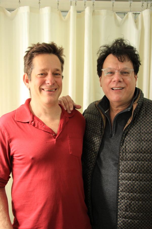 Jeffrey Solomon and Joe Brancato  Photo
