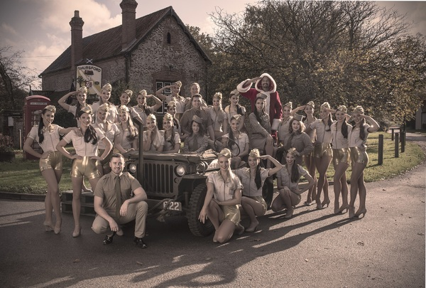 Photo Flash: Take a Look at Brand New Photos of the THURSFORD CHRISTMAS SPECTACULAR