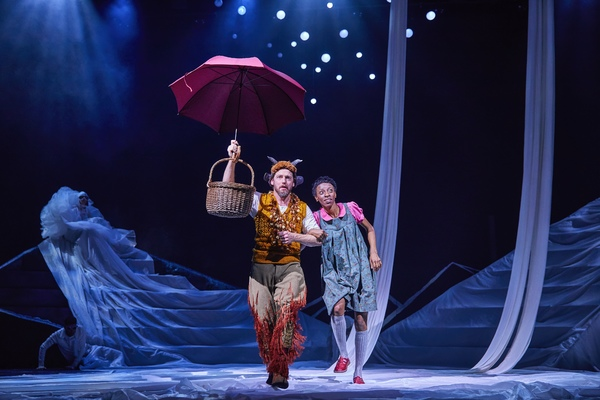 Photo Flash: Take a Look at Photos From THE LION, THE WITCH AND THE WARDOBE  at the Bridge Theatre