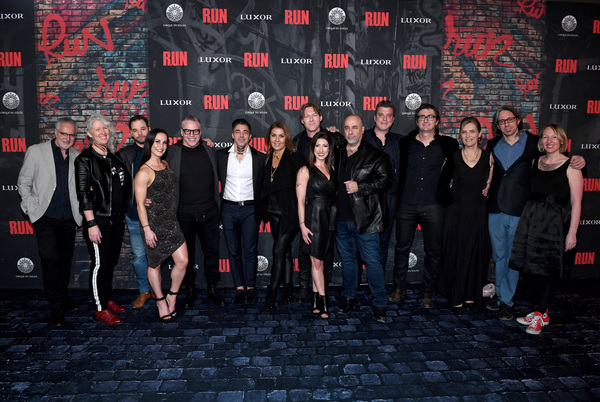 Photo Flash: Luxor Celebrates The World Premiere Of R.U.N – The First Live-Action Thriller FromCirque Du Soleil