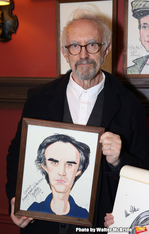 Photo Coverage: Eileen Atkins Receives Portrait at Sardi's