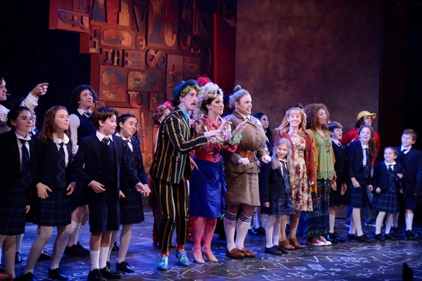 Michael Perrie, Jr., Sara Gallo, Dane Agostinis, AnnaBelle Deaner, Kate Fahrner, Nicole Powell and the cast