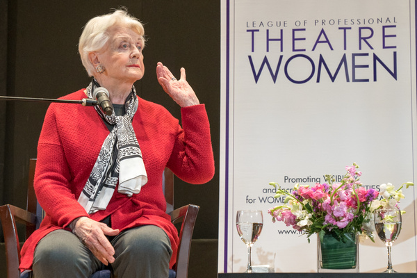 Photo Flash: Inside the LPTW Oral History Project Event With Dame Angela Lansbury