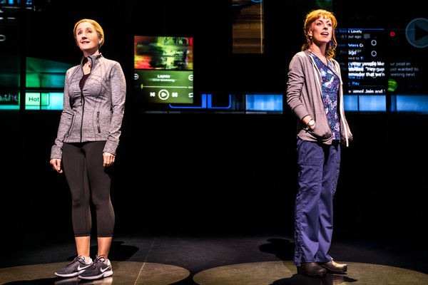 Lauren Ward (Cynthia Murphy), Rebecca McKinnis (Heidi Hansen) Photo