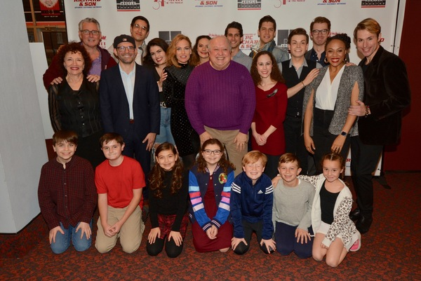 The Cast of Miracle on 34th Street that includes-Demi Alert, Zach Atkinson, Tiffan Bo Photo