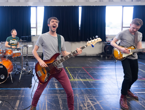 Photo Flash: Inside Rehearsal For JACK AND THE BEANSTALK at Theatr Clywd
