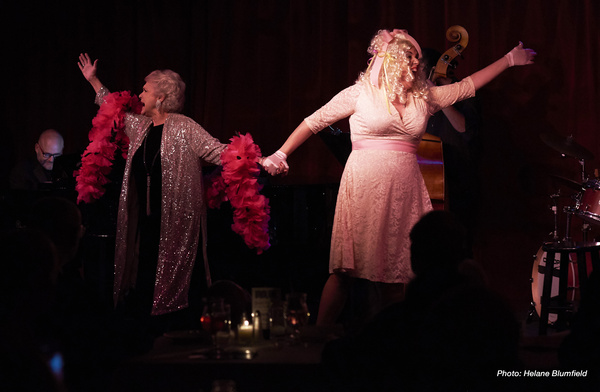 Photo Flash: Marta Sanders And Leanne Borghesi Bring Showbroads To Birdland